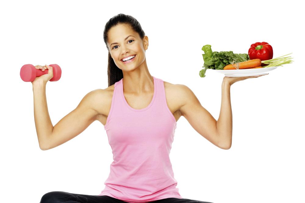 chế độ ăn uống cho cô nàng tập gym giảm cân
