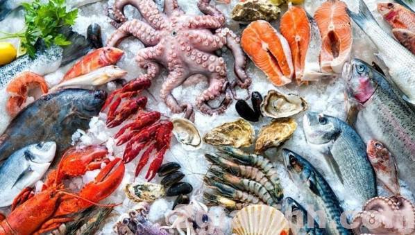 cung cấp hải sản hằng ngày giúp bạn tăng nội tiết tố nữ